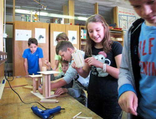 Material+roka=izkušnja 2017: Osnovna šola Antona Tomaža Linharta Radovljica